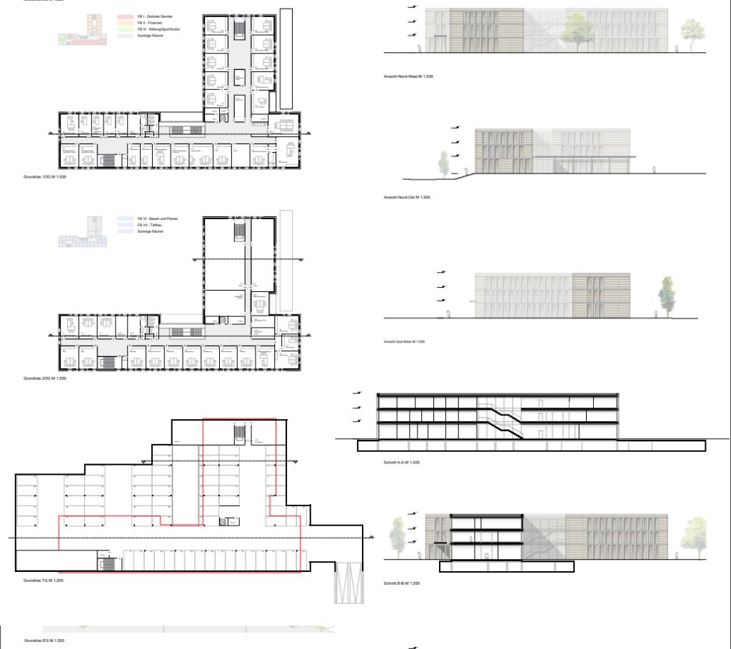 XtraProjekt Münster Modellzeichnung
